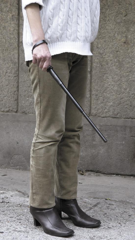 日本製三段式警棒<デラックス>