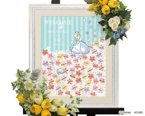 ウエディングツリー花とアリス1