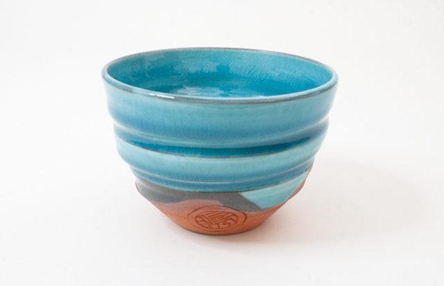 御室焼仁秀 蒼空(そうくう)フリーカップ