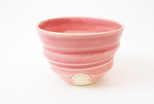 御室焼仁秀 おむろ桜 フリーカップ・客人碗