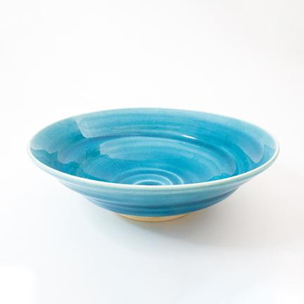 御室焼仁秀 蒼空(そうくう)「フリー鉢