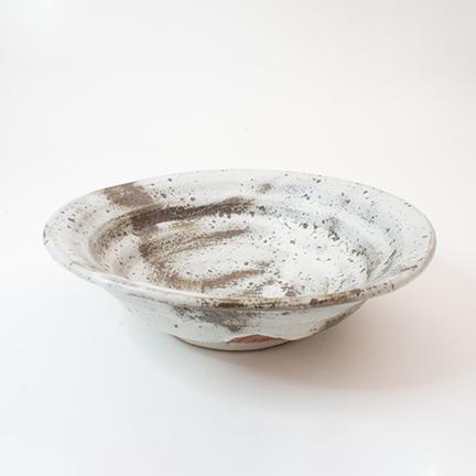 御室焼仁秀 瑞(ずい)フリー鉢(21cm)