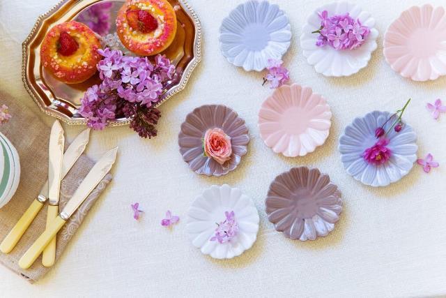 fiorina -小さなお花たち- 小花皿 イメージ