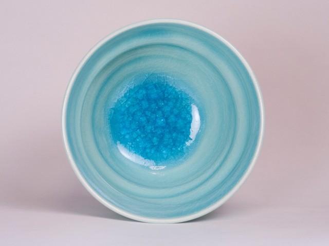 御室焼仁秀 水の精 内硝子(みずのせい うちがらす)2