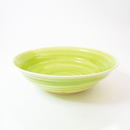 御室焼仁秀 かぐや フリー鉢(21cm)