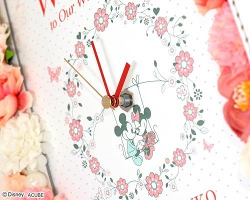 ウェルカムボード(フラワー)ポッシュ(時計付き)2